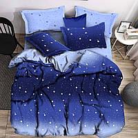 Двуспальный комплект постельного белья евро 200*220 хлопок  (16109) TM KRISPOL Украина