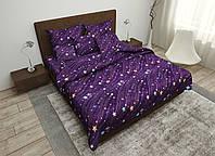 Двуспальный комплект постельного белья евро 200*220 хлопок  (16078) TM KRISPOL Украина