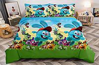Детский комплект постельного белья 150*220 хлопок (15787) TM KRISPOL Украина