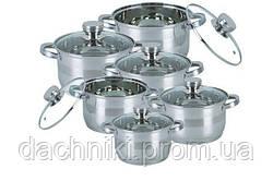 Набор посуды Bohmann BH-1275 N - 12 пр