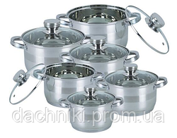 Набір посуду Bohmann 12 предметів 1275N-BH