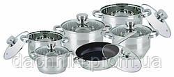 Набір посуду Bohmann 12 предметів 1275MRB-BH