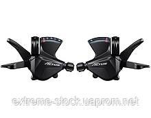 Манетки Shimano Altus SL-M2000, 3x9, RapidFire Plus, з тросиками, OEM