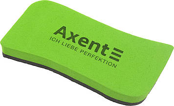 "Губка для дошки ""Axent"" Wave магнітна,зелена №9805-05-А(12)"