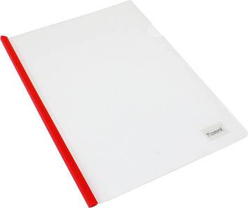 "Папка ""Axent"" №1416-00 A4 з планкою-затиск., 6мм(8)(400)"