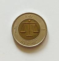 1 быр Эфиопия 2010 г., фото 1