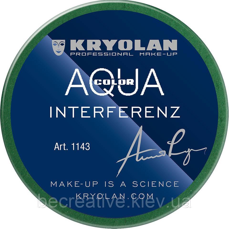 Глянцевый аквагрим AQUACOLOR INTERFERENZ, 55 мл (оттенок 512 G)