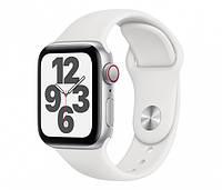 Apple Watch SE 40/Aluminium Silver/White Sport LTE (MYEF2WB/A), фото 1