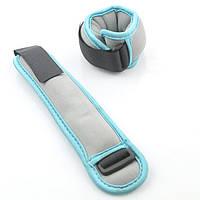 Утяжелители 0,5 кг (2 x 0,25 кг) серо-голубые 87223-250G