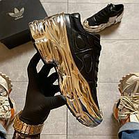 Adidas Raf Simons Ozweego Core Black Silver Metallic (Черный)