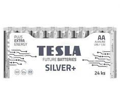 [AA SILVER+24M] Первинні елементи та первинні батареї, циліндричної форми, лужні TESLA AA BATTERIES SILVER+