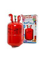 Баллон с гелием на 30 шаров Party Factory  37х19х19см Разноцветный