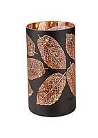 LED декоративний світильник Melinera 12х20см Чорний, Золотий