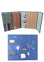 Набор стикеров для заметок United Office 6,6х1,6см/8,5х8,5см/15х8,5см/3,9х3,9см/4,6х3,5см/4,5х3,5см/15х12см