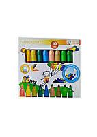 Набір кольорових фломастерів (10шт) United Office 13х1см Різнобарвний