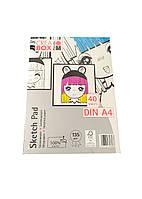 Альбом для малювання (40) А4 Crea Box Marabu 30х21см Білий