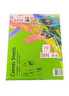 Альбом для малювання (10) А4 Crea Box Marabu 30х21см Білий
