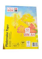Альбом для малювання (12) А4 Crea Box Marabu 30х21см Білий