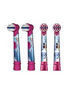 Набір насадок для щітки Oral-B Stages Power Disney Frozen (4шт) Braun 6,5 см Різнобарвний