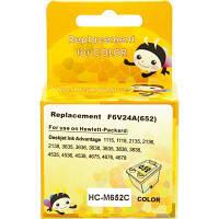 Картридж MicroJet для HP №652 (F6V24AE) Color (HC-M652C)