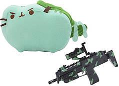 Комплект Мягкая игрушка кот дракон Pusheen cat и Автомат дополненной реальности (n-712)