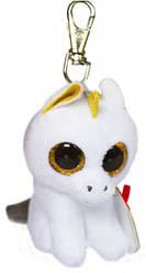 Мягкая игрушка брелок TY Beanie Boo's Единорог Pegasus 8 см (36640)