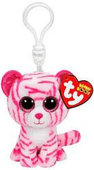 Мягкая игрушка брелок TY Beanie Boo's Тигренок Asia 12 см (36638)