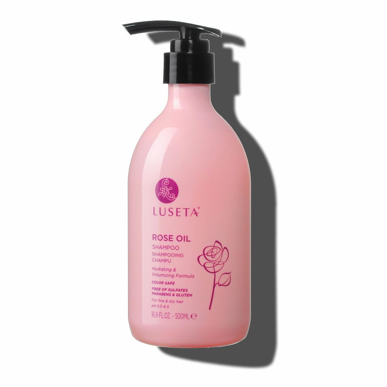 Шампунь для об'єму волосся Luseta Rose Oil Shampoo 500ml