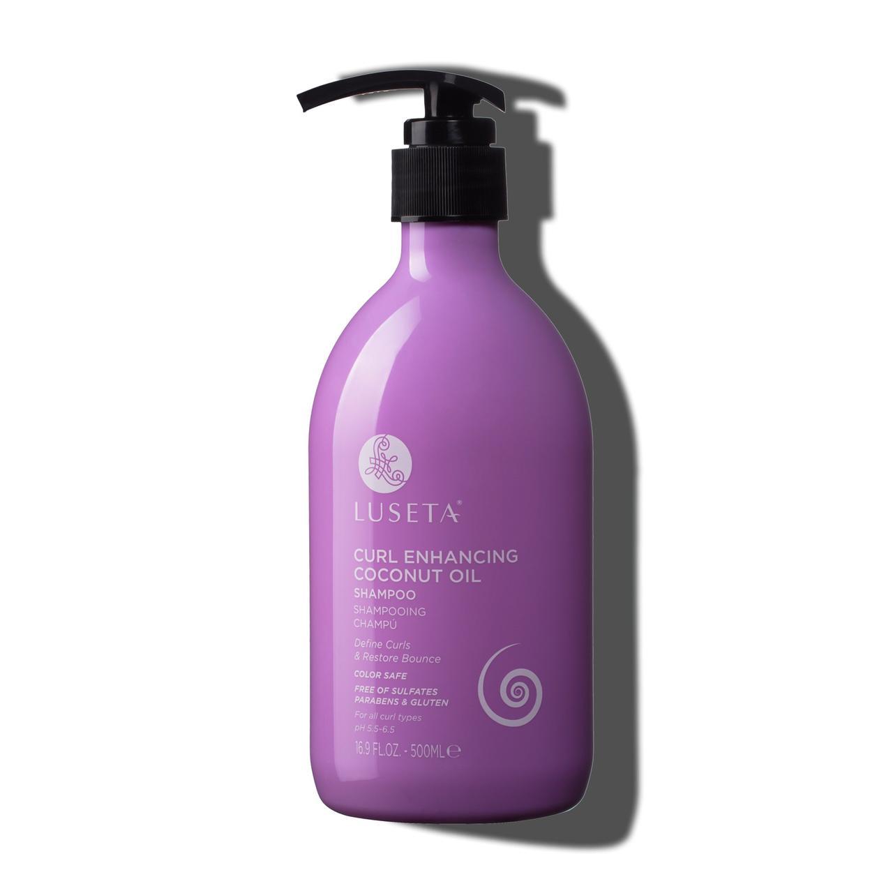 Шампунь для кучерявого волосся Luseta Curl Enhancing Coconut Oil Shampoo 500 ml