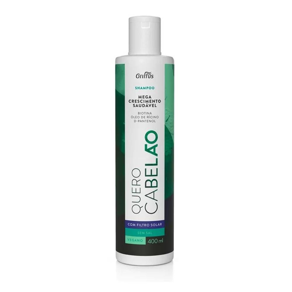 Шампунь для стимуляції росту волосся Griffus Shampoo Quero Cabelao 400 ml