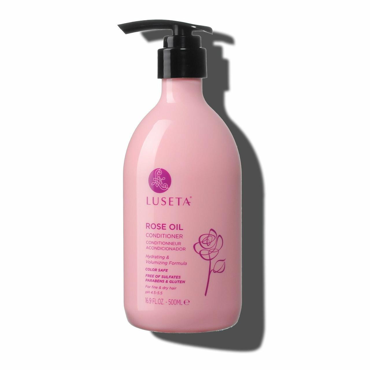 Кондиционер для обьема волос Luseta Rose Oil Conditioner 500ml