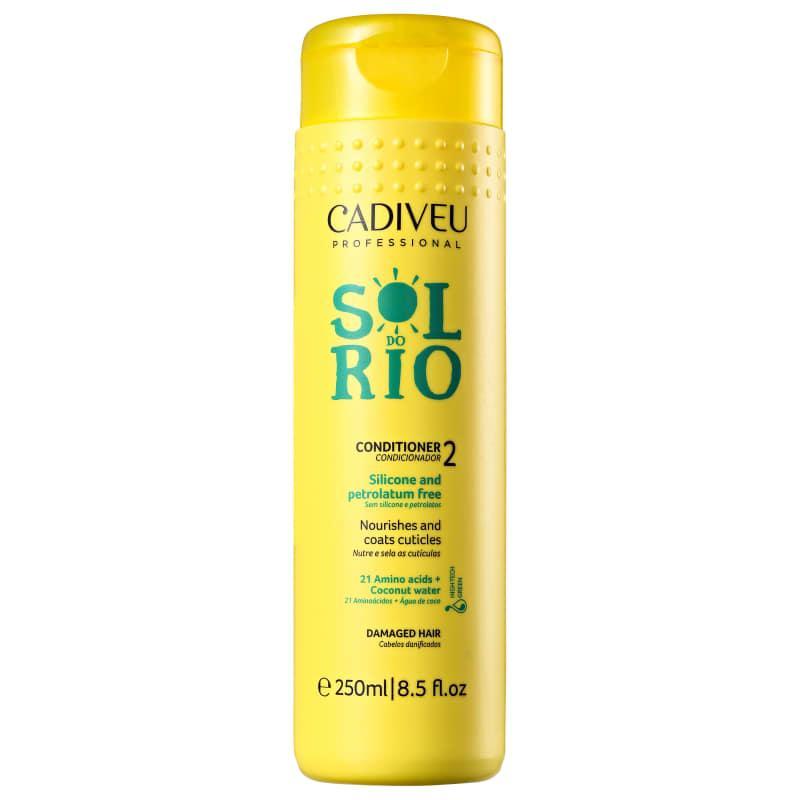 Кондиционер для укрепления волос Cadiveu Sol do Rio Condicionador 250ml