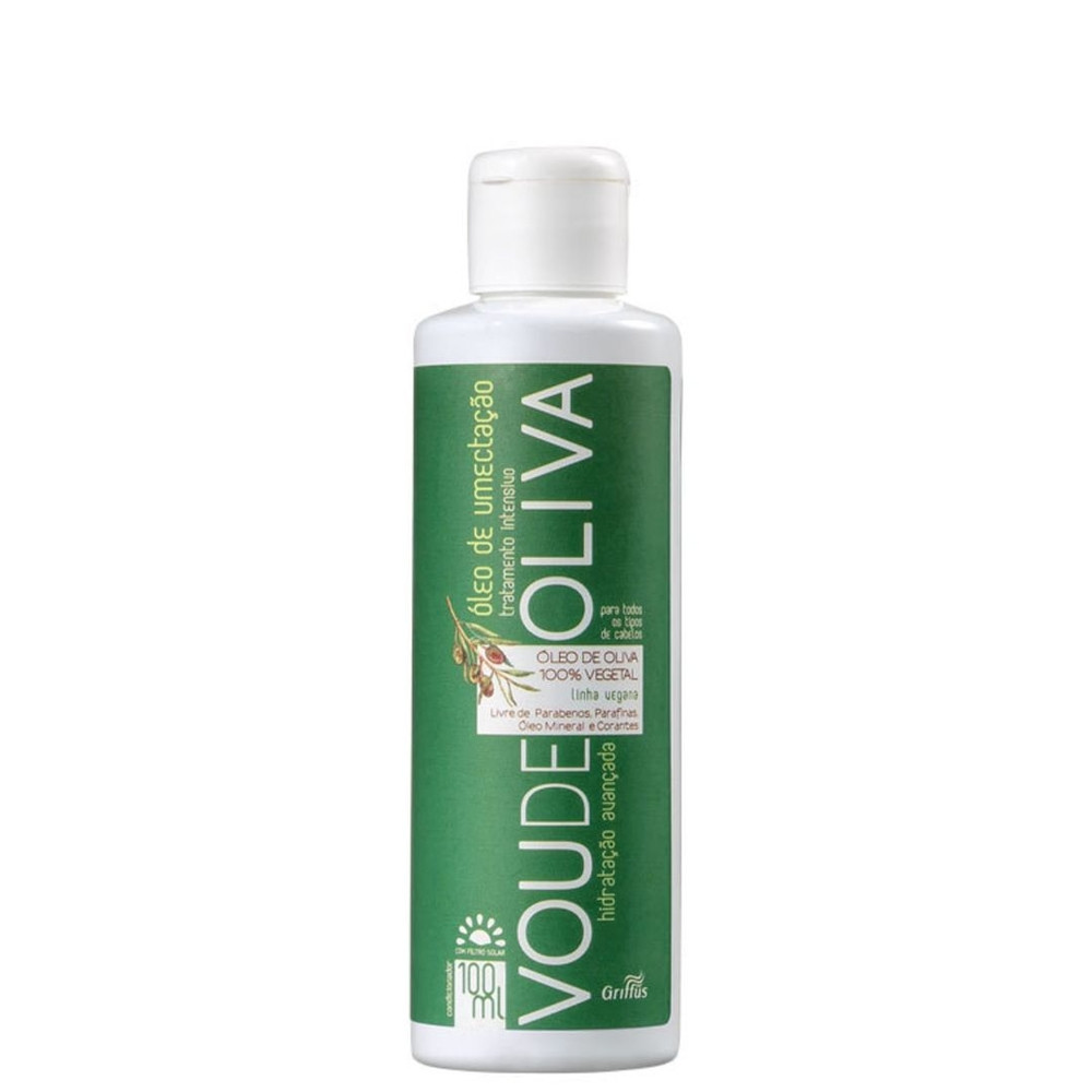 Масло для волос увлажняющее Griffus Oleo Umectacao Griffus Voude Olive 100ml