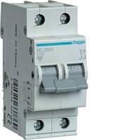 Автоматический выключатель Hager MC232A 2P 6kA C-32A 2M