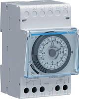 Таймер аналоговый суточный Hager EH111 16 А 3 модуля