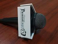 Насадка на микрофон с логотипом треугольная (Ширина: 100мм;  Высота: 40мм;), фото 1