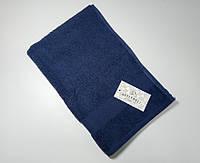 ТМ TAG Полотенце махровое QuenWest синее