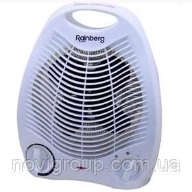 Тепловентилятор спіральний RB-164, 2000Вт, 2 режими 1000 / 2000Вт, холодний / теплий / гарячий