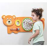 Бизиборд Viga Toys Медвежонок (50471), фото 4
