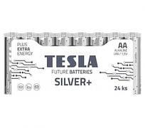 [AA SILVER+24M] Первинні елементи та первинні батареї, циліндричної форми, лужні  TESLA BATTERIES AA SILVER+