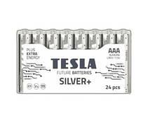 [AAA SILVER+24M] Первинні елементи та первинні батареї, циліндричної форми, лужні TESLA BATTERIES AAA SILVER+