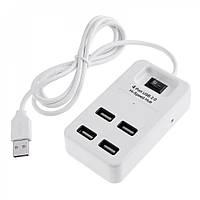 USB-хаб P-1601 4 USB 2.0, White
