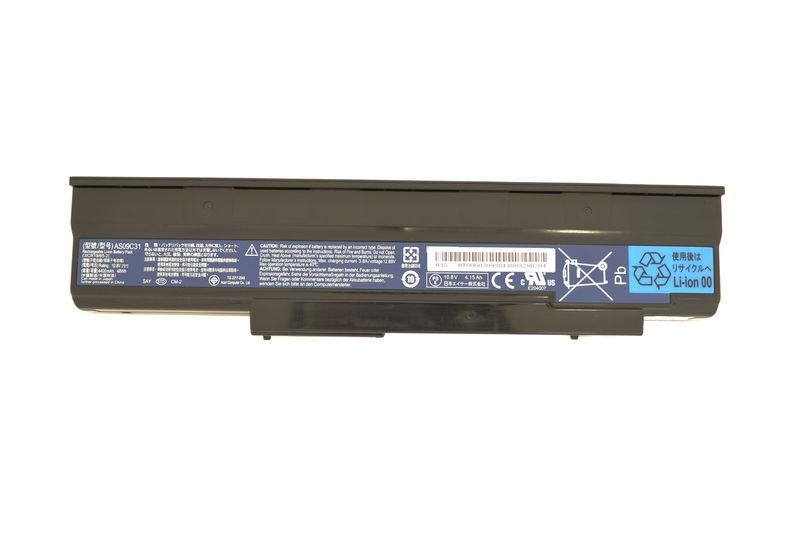 Аккумуляторная батарея для ноутбука Acer AS09C31 NV4001 11.1V Black 4400mAh Orig