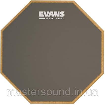 """Тренувальний пед Evans RF6GM 6 """"Real Feel Mountable Pad"""