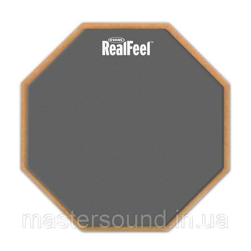 "Тренировочный пэд Evans RF6D 6"" Real Feel 2-SIDED Pad"