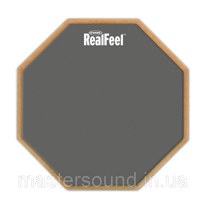 "Тренировочный пэд Evans RF12D 12"" Real Feel 2-Sided Pad"