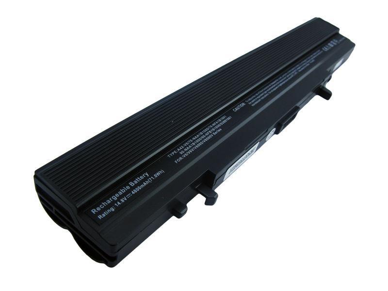 Аккумуляторная батарея для ноутбука Asus A42-V6 14.8V Black 4400mAh OEM