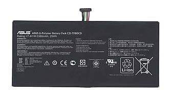 Оригинальная аккумуляторная батарея для планшета Asus C12-TF810CD 7.4V Black 3380mAhr 25Wh