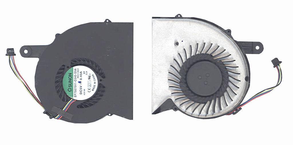 Вентилятор для ноутбука HP ProBook 4340, 4341, 4340S, 4341S, 5V 0.4 A 4-pin SUNON