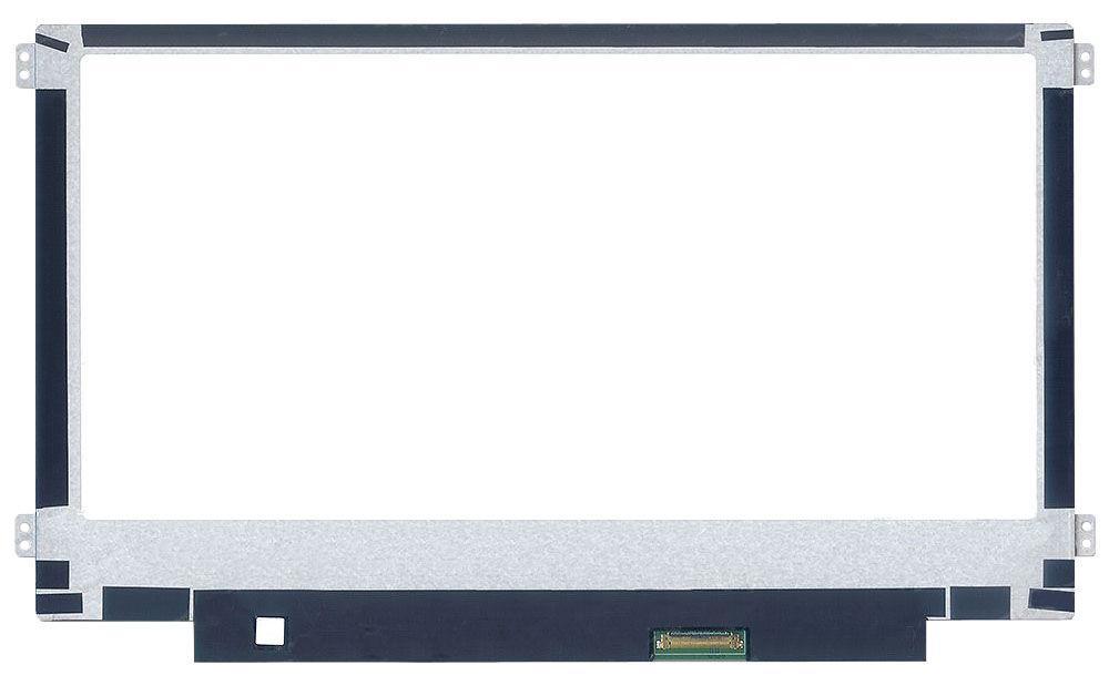 "Матрица для ноутбука 11,6"", Slim (тонкая), 30 pin EDP (снизу справа), 1366x768, Светодиодная (LED), крепления"